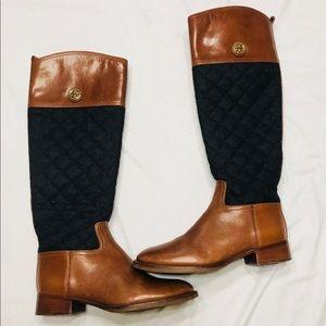 Tory Burch Rosalie riding boots